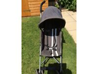 Maclaren stroller pushchair grey buggy