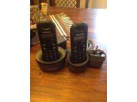 Panasonic twin phones (used)