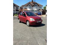 TOYOTA YARIS COLOUR COLLECTION 5 DOOR 1.0 EXCELLENT RUNNER