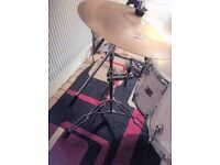 Pearl long boom cymbal stand.