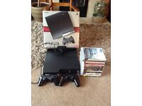 Sony Playstation 3 with Games and Eyetoy