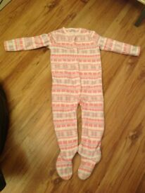 12-18 months girl onesie
