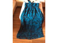 New teal dress size 14