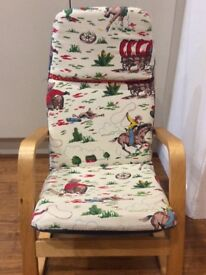 Children's Ikea Chair with Cath Kidston Fabric