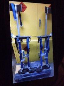 Marshalltown plastering Stilts as new never been used on site so as new
