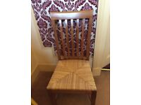 Extendable Dining Table & 8 Matching Chairs