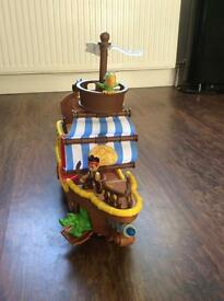 Jake and Neverland pirates and pirateship