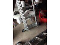 Brand new 3 piece ladders