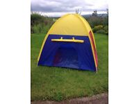 Childs ikea play tent