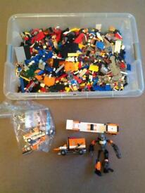Huge Lego Joblot city creator dimensions mini Figures collection rare