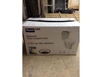 Closed coupled toilet brand new in box from b and q