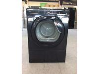 HOOVER HL V8DGB Vented 8 kg Tumble Dryer Black #400630
