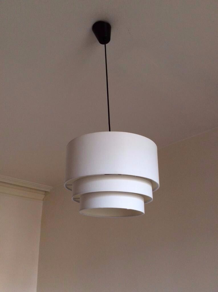 Homebase Tulip Ceiling Lights : ? bargain three homebase easy to fit ceiling light