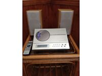 Sharp compact stereo system CD player