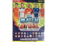 Match Attax Premier League 2016/17.