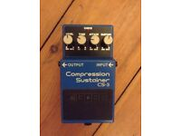 Boss Compression/Sustainer CS-3