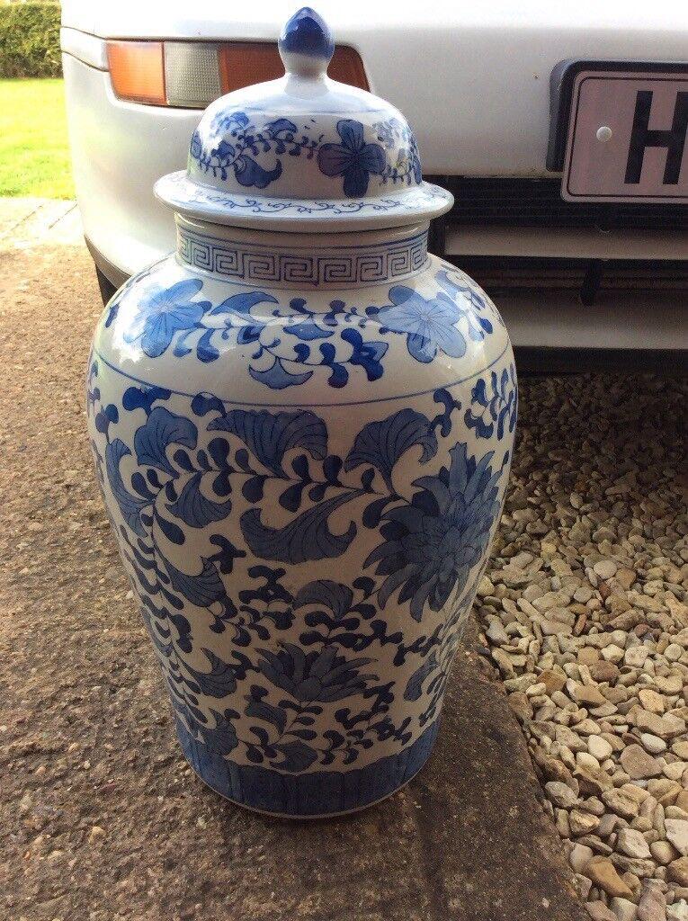 Japanese style ceramic vase