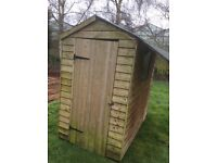 Wooden shed 6ft x 4ft