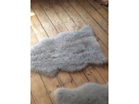 IKEA real sheepskin rug worth £55 just £20 to clear - last chance to buy !