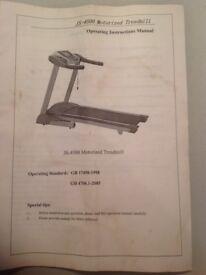 Bodytrain JS-4500 Motorized Treadmill