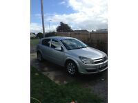 Vauxhall Astra 54 plate 1.7 tdi with NEW MOT