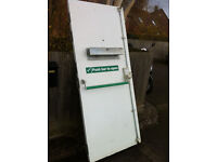 Metal Steel Heavy Duty Security Door Frame & Furniture Fire Rated, Insurance Approved & Insulated