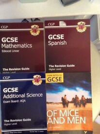 GCSE Mathematics, Additional Science, Spanish