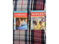 Two street map books from Italy