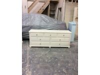 Shabby chic bedroom drawers