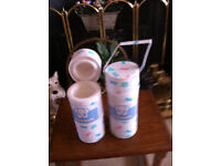 NEW 75 BABY INSULATED BOTTLE HOLDERS KEEPS MILK /LIQUID WARMOR COLD 75 IN ONE BOX