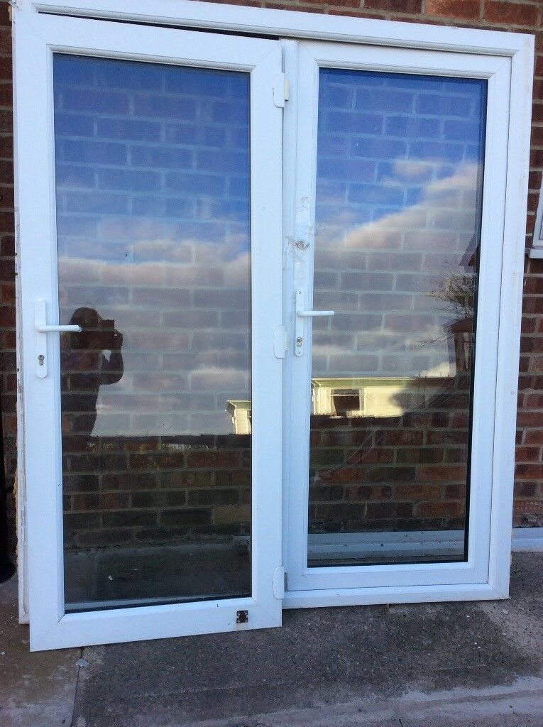 Used Patio Doors White Upvc In Huntington North Yorkshire Gumtree