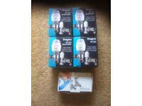 new 4 sets of draton radiator valvesand 1 set of silver bathroom valves