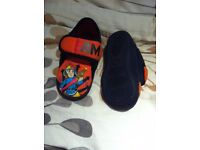 Fireman Sam Slippers Size 8, great condition and clean, from pet and smoke free home
