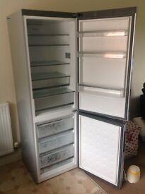 Large Silver Fridge Freezer