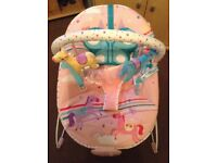 Mothercare bouncy chair.