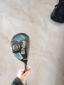 Ping G 19 degree hybrid stiff