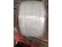 Telephone Extention Cable .. comes on a 200 metre coil