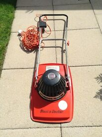 Black and Decker Hover Mower