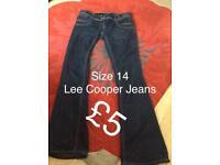 Ladies jeans size 14