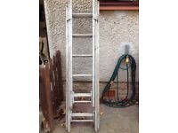 Ramsay aluminium 3 part extension ladder