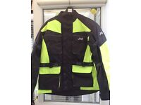 J & S motorcycle jacket large as new