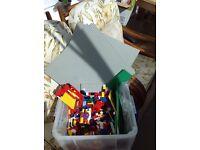 """""""Huge"""" box of """"Lego"""""""