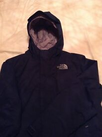 North Face insulated hooded jacket LB 14/16