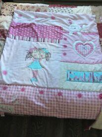 Claire de Lune 'my dolly' quilt & bumper set