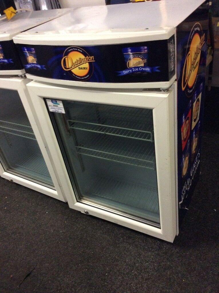 Glass Door Display Ice Cream Freezer In Newcastle Tyne And Wear