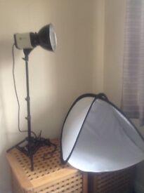 BIP light control photography lamp light with diamond dazzler bulb and light tent