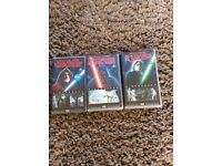 Star Wars Vhs Video Box Set,