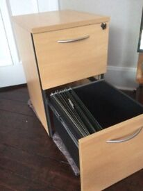 Home or office 2 drawer filling cabinet