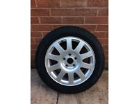 Audi A6 Alloy Wheel Pirelli P6000 Tyre
