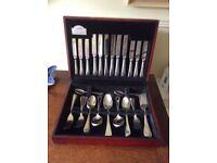 George Butler Stainless Steel 44 Piece Cutlery Set